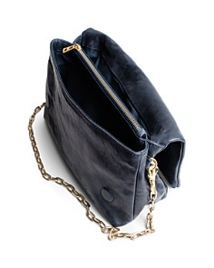 Zadig & Voltaire - Rocky Crush Distressed Leather Crossbody